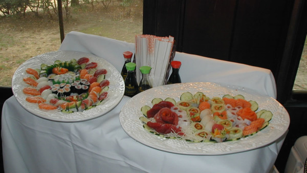 More Sushi Catering for Weddings
