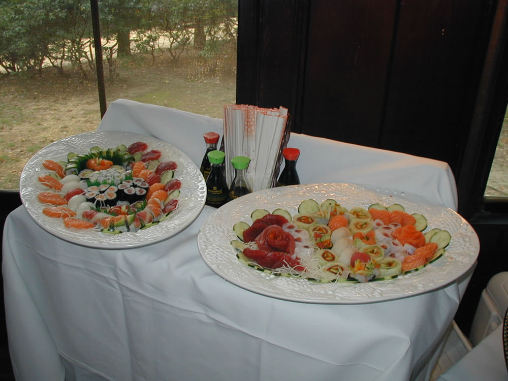 More sushi catering for weddings dannys steakhouse more sushi catering for weddings junglespirit Choice Image