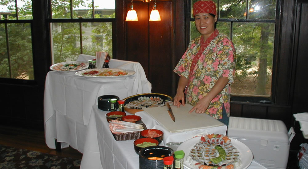 Sushi Catering (wedding)