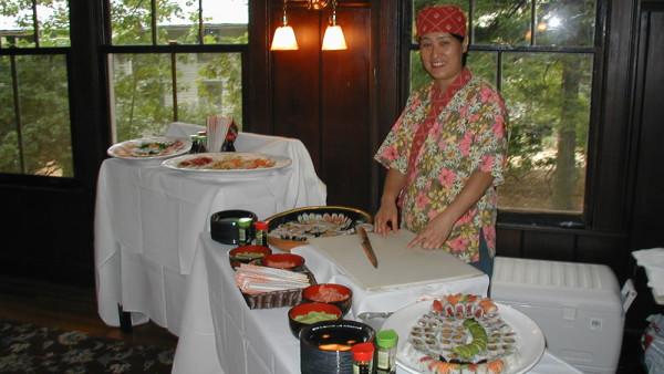 Sushi Catering (wedding)