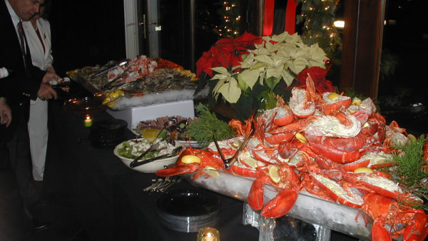 Wedding Catering Lobster and Clams