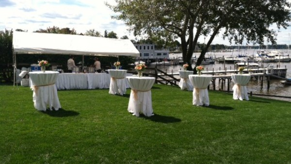 Wedding by the Navasink - Cocktail Tables